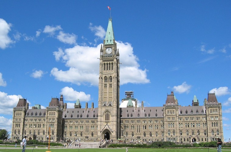 Canadian Parliament in Ottawa