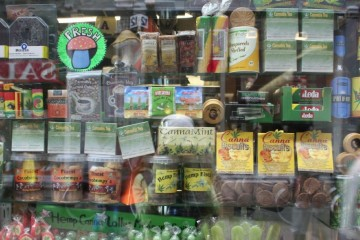 dispensary display