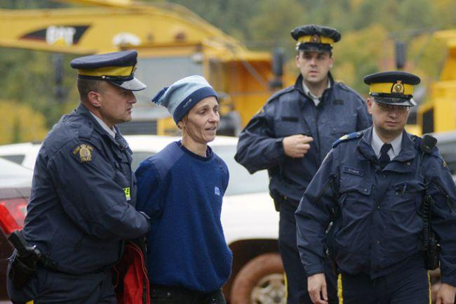 arresting