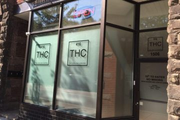THC The Healing Center dispensary (1506 Dundas Street West)