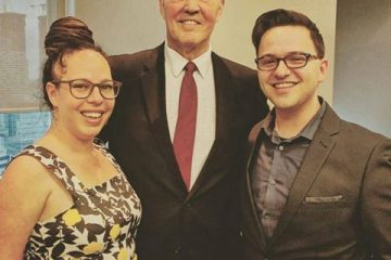 CFBA lobbyists Abi Roach (left) and Jon Liedtke (right) attended a cash-for-access Liberal fundraiser for Bill Blair last April.