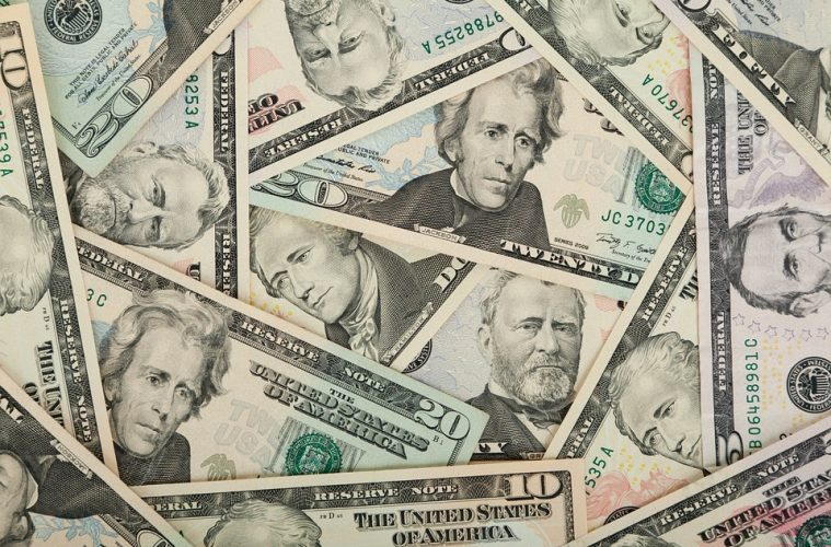 Banking American Background Us Dollars Bank