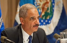 Attorney General Eric Holder gives his opening remarks at at a public workshop sponsored by the United States Department of Agriculture and the Department of Justice exploring competition issues in Agriculture in Washington, DC, Wednesday, December 8.
