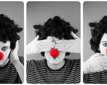 mime-with-red-nose
