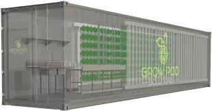 Grow Pod Provides Sneak Peek of Its Sea-Can Solutions