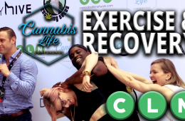 Exercise, Recovery & Cannabis Moderated by Dr. Michael Hart