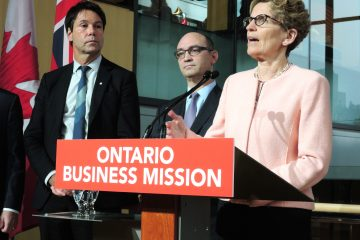 KWynne_Ontario_Business_Mission