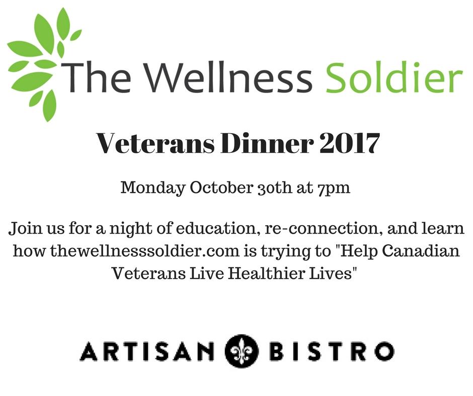 Veteran's Dinner Details