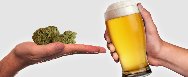 Image result for Cannabis VS alcohol sales