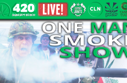 one man smoke show 420 vancouver