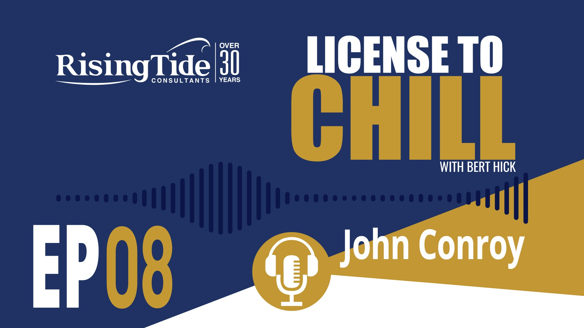JOHN CONROY – LICENSE TO CHILL – EPISODE 8